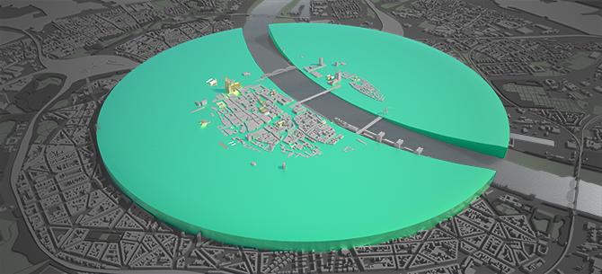 Stadtplastik